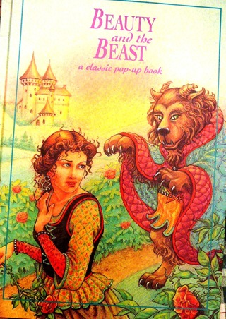 """Beauty and the Beast"" Pop-up Book"