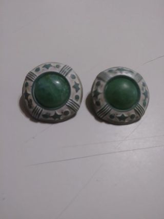 Retro earrings clip on