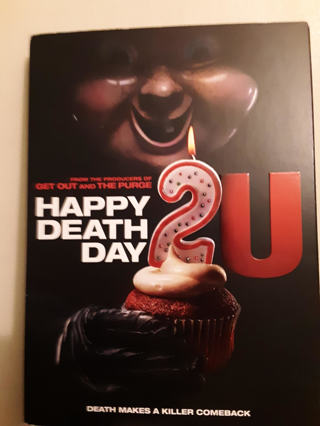 New HAPPY DEATH DAY 2 U Blu-Ray + DVD + Digital