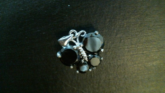 Black Butterfly Charm