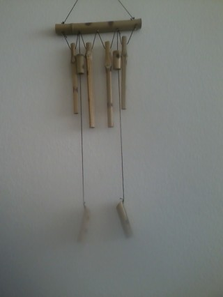 classic light  bamboo wind chimes