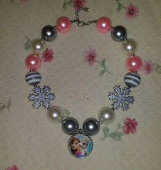 Chunky Bubblegum Necklace *free shipping*