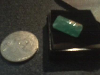 Certified Beautiful Natural Zambian Emerald! Gift W/Gin
