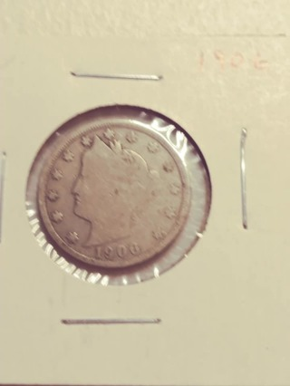 1906 Liberty V Nickel! Nice Date! 83