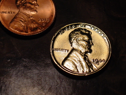 Free nice 1944 d 24 kt gold plated wheat penny coins listia free nice 1944 d 24 kt gold plated wheat penny publicscrutiny Images