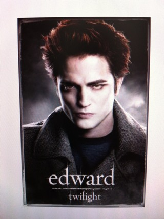 "Brand New Sealed Collectible Edward Twilight Movie Poster 24"" x 36"""