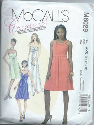 Misses Dress pattern sz 4
