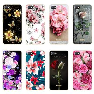 """For Xiaomi Redmi 6A Case 2GB+16GB 5.45"""" Ultra Thin Patterned Flower Soft TPU Protective Case For X"""