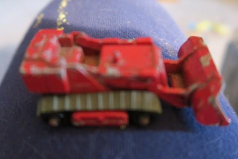 Old Metal Bulldozer Toy