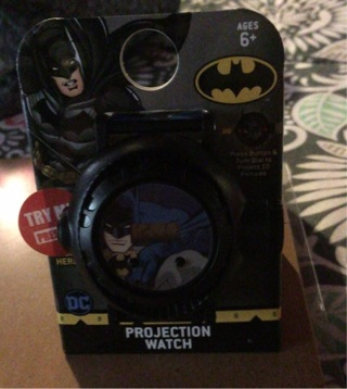 Batman projection watch