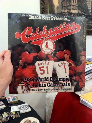 FREE St Louis Cardinals 1982 World Champion Celebration Unopened 33 Record Album LP