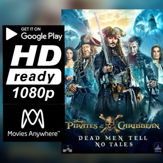 PIRATES OF THE CARIBBEAN: DEAD MEN TELL NO TALES HD GOOGLE PLAY CODE ONLY