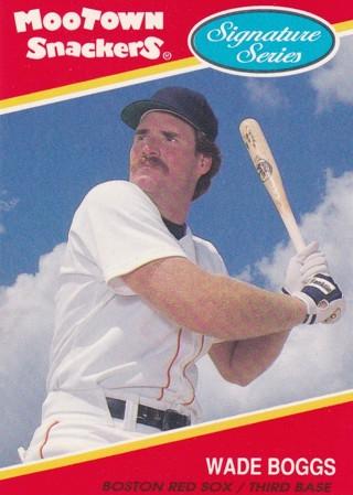 Wade Boggs 2 Baseball Card Lot