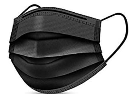 Brand New 3 layered Face mask ~ Be safe