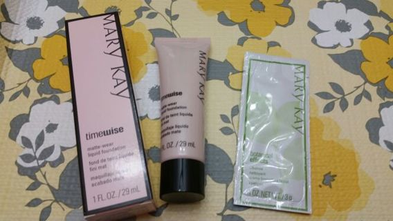 Mary Kay timewise matte-wear foundation Bronze 7