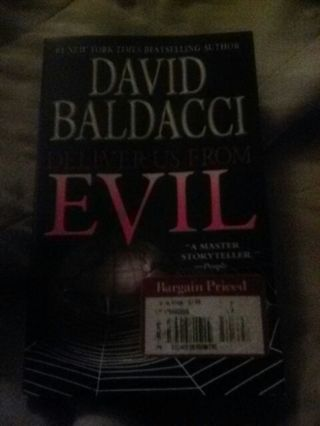 **FREE USA SHIPPING** Deliver Us From Evil paperback by David Baldacci