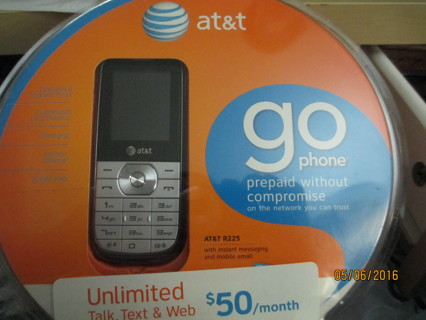 AT&T GO PHONE, Prepaid Without Compromise New in Pkg