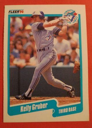 1990 Fleer #83 Kelly Gruber - Blue Jays