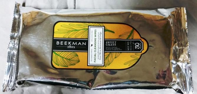 Beekman 1802 Facial Cleansing Wipes - Sweet Grass