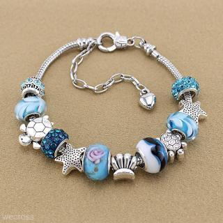 Charm Bracelet Fashion Jewelry Ocean Blue