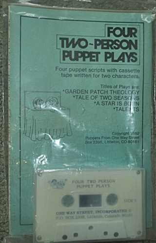 Puppet Scripts and Cassette - Four Two-Person Puppet Plays