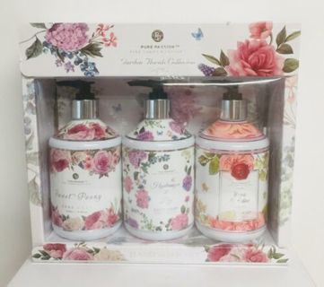 Pure Passion Garden Horals Collection Hand Soap Set