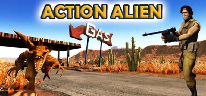 Action Alien - Steam Key