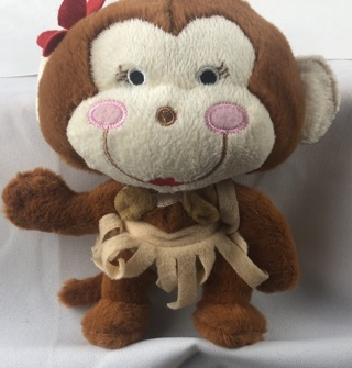 Hululu Monkey Dog Chew Toy