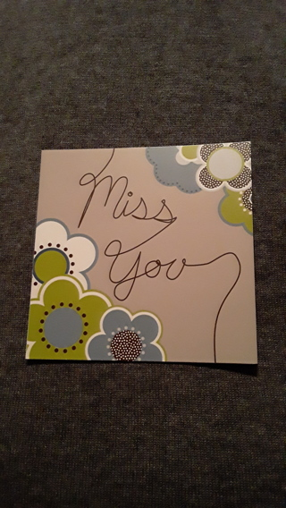 Card - Miss You