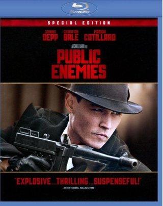 Public Enemies    HD GooglePlay Digital Copy Code Transfers to MA, Vudu