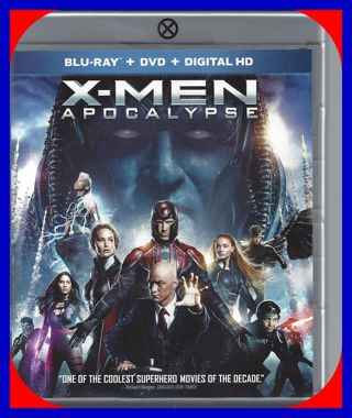 X-MEN Apocalypse DVD New Movie