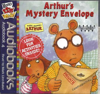 Free: ARTHUR'S Mystery Envelope Audio Book KIDS - Children's