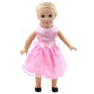 "Fits 18"" American Girl Madame Alexander Handmade fashion Doll Clothes dress"
