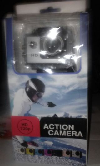 GO PRO STYLE PORTS CAMERA with LOTS of accessories