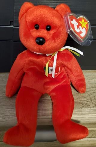 """NEW - TY Beanie Baby Bear - """"Osito"""""""