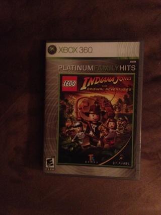 XBOX 360 LEGO Indiana Jones The Original Adventures, in new like condition!!!!