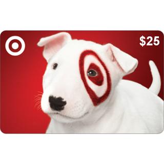 $25 Target Gift Card Code