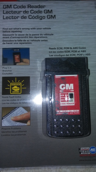 GM Code Reader (96 and Newer)