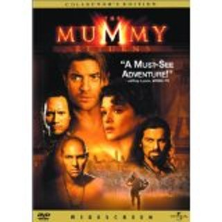 The Mummy Returns DVD fullscreen