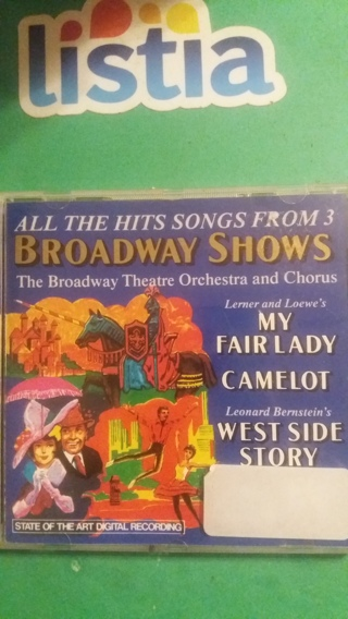 cd  broadway shows   free shipping