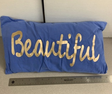 Beautiful Handmade T-shirt Pillow