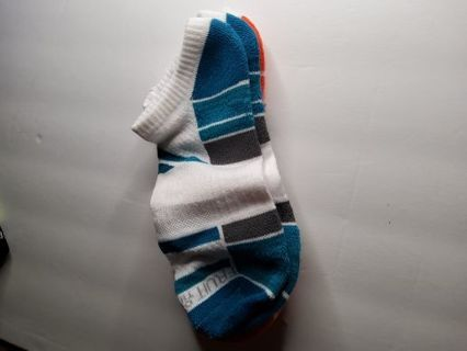 2 pairs of fruit of the loom mens no show socks