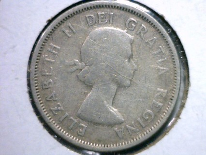 ★★★ 1953 80% Silver 25 Cent Elizabeth II Quarter Coin! ★★★