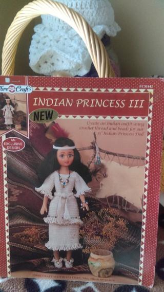 INDIAN PRINCESS CROCHET PATTERN