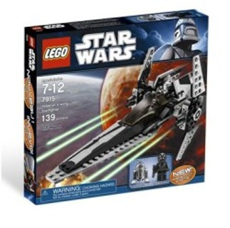 New Imperial V-Wing Starfighter Lego Star Wars 139 pieces !