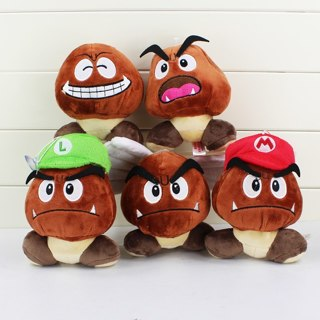 Super Mario Bros Goomba Plush Stuffed Dolls Plush Toys 12CM