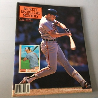 Beckett Baseball Card Monthly Magazine - May 1991 Issue #74