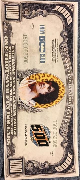 Elvis fun dollar