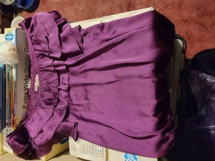Nice purple blouse