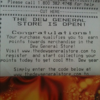 The Dew General Store Code! From Dollar General